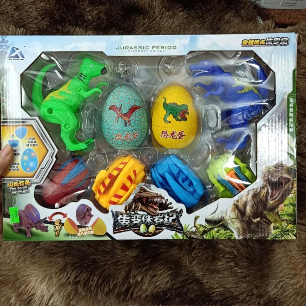 Hộp khủng long và trứng nở khủng long