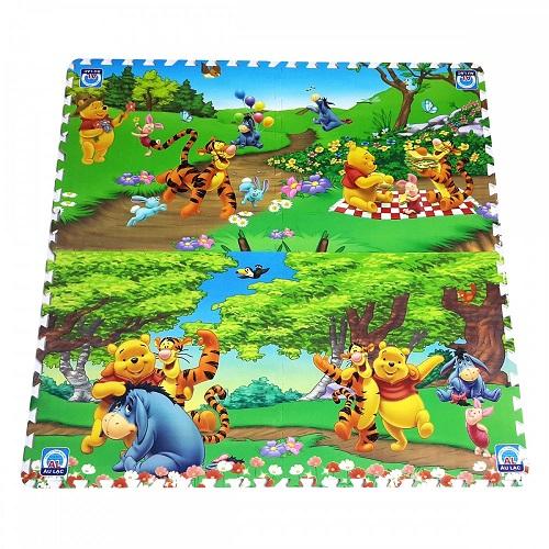 4 miếng thảm xốp hoạt hình Âu Lạc 60x60cm (nhiều hình)