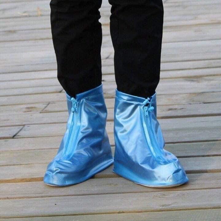 Ủng đi mưa (xanh)