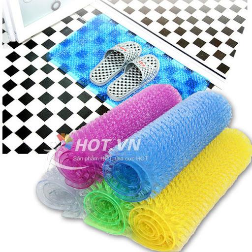 Thảm lau chân nhựa chống trơn nhà tắm