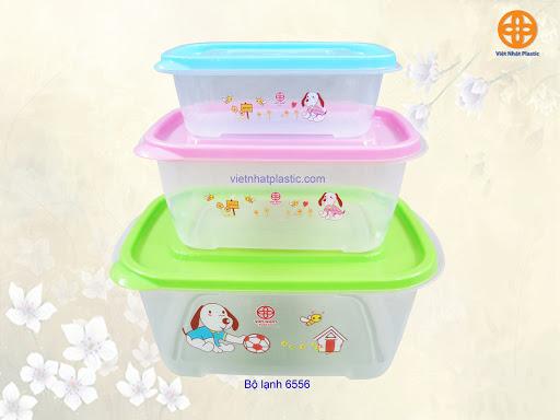 Bộ 3 hộp đựng thực phẩm Việt Nhật (6556)