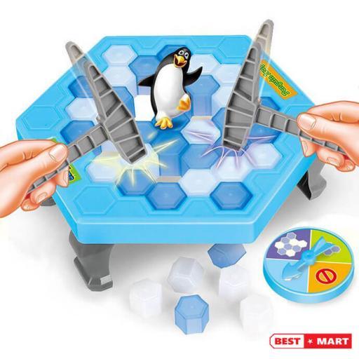 Bộ đồ chơi phá băng giải cứu cánh cụt