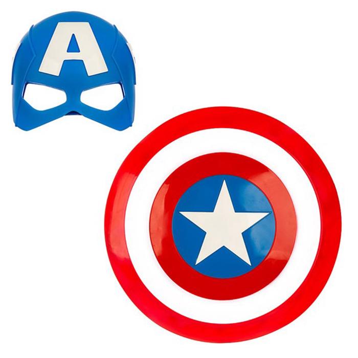 Bộ khiên (có đèn, âm thanh) + mặt nạ Captain America
