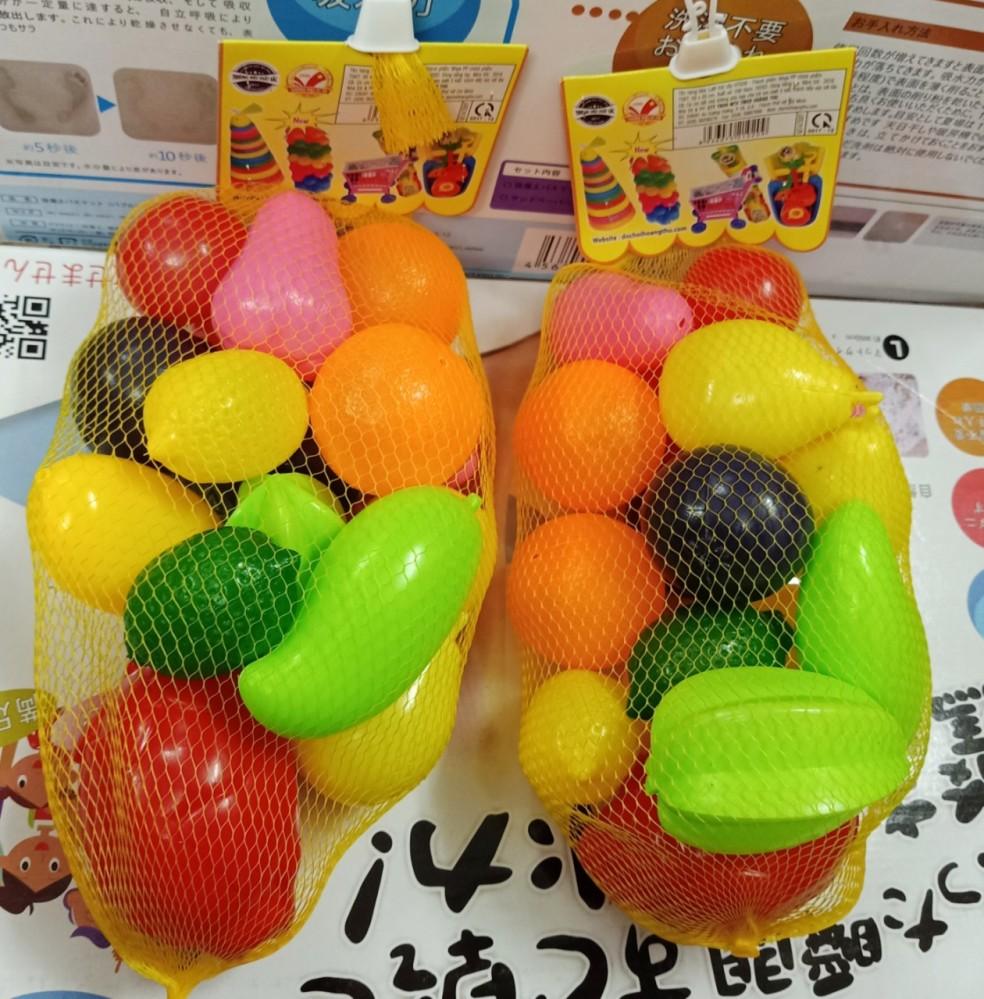 Túi lưới hoa quả cho bé