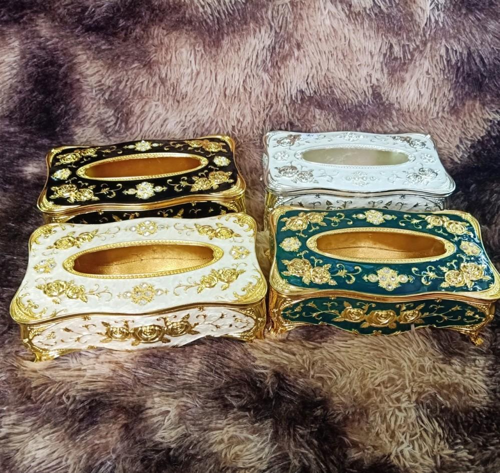 Hộp đựng giấy ăn hoàng gia (hàng xịn)