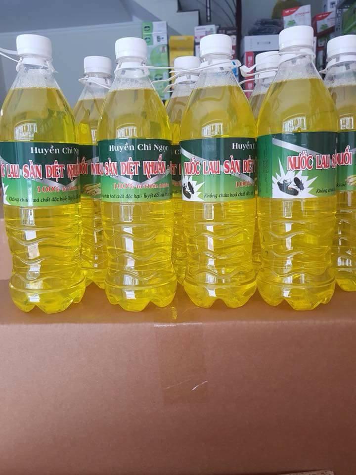 Nước lau sàn đuổi muỗi, côn trùng, diệt khuẩn HCN 1L
