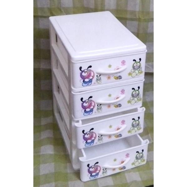 Tủ nhựa Việt Nhật mini 4 tầng (25x18cm cao 30cm)