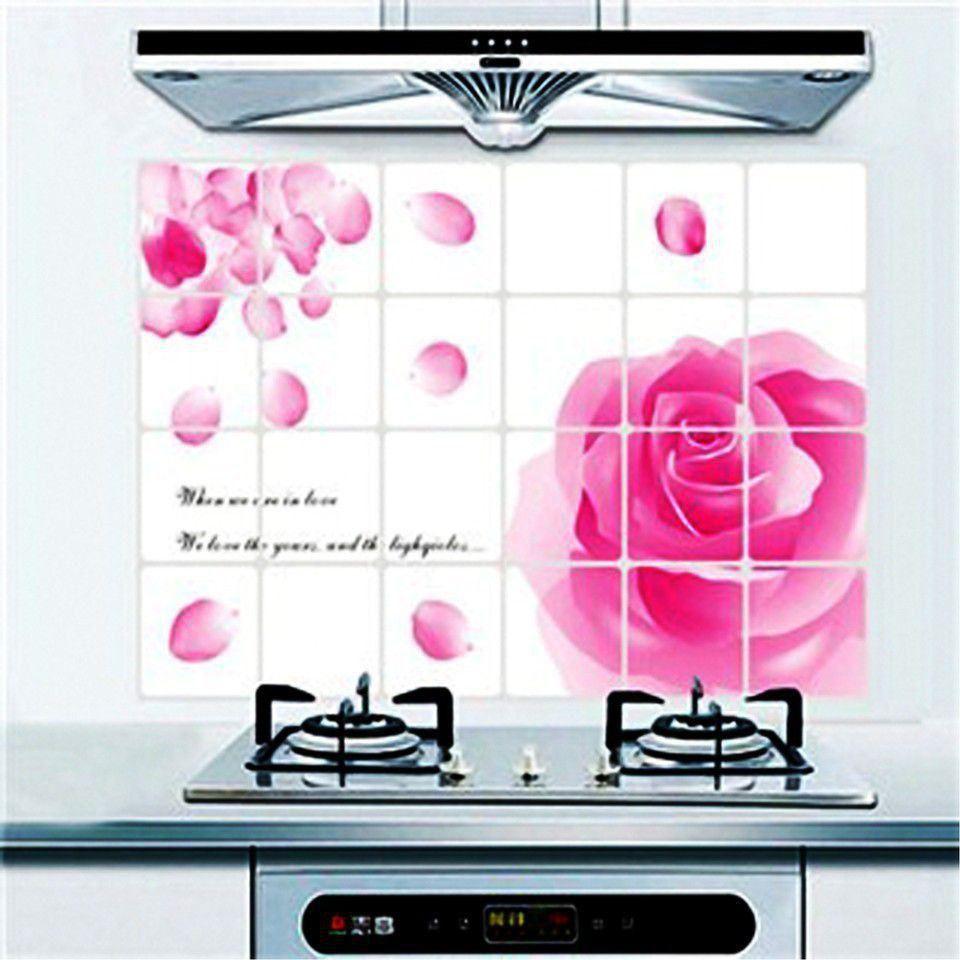 Giấy dán bếp cách nhiệt loại to 60cm x 90cm