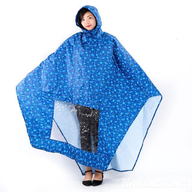 Áo mưa siêu nhẹ họa tiết Duy Linh