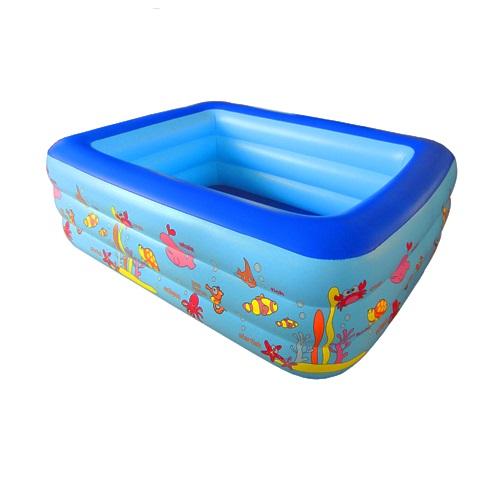 Bể bơi chữ nhật 140x100x55cm (3T)