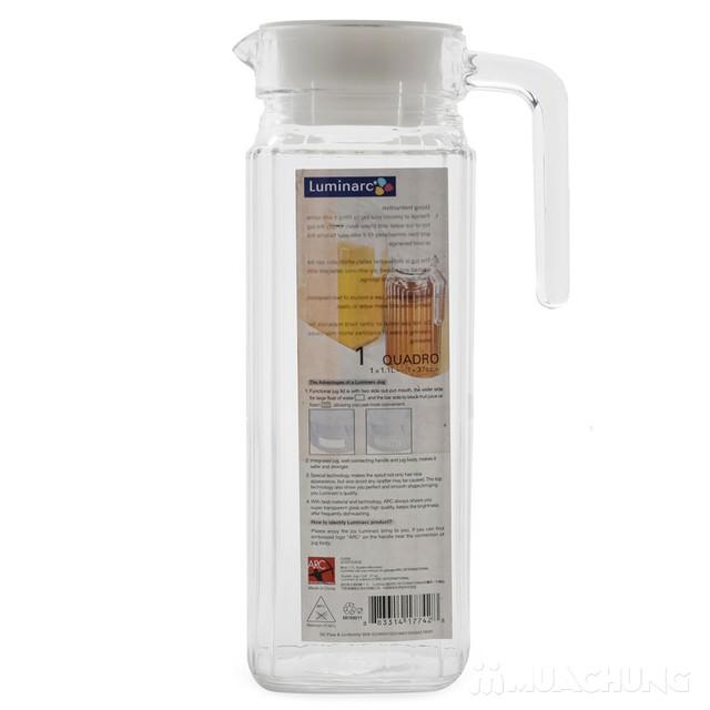 Bình nước cài cánh tủ Luminarc 1,2L