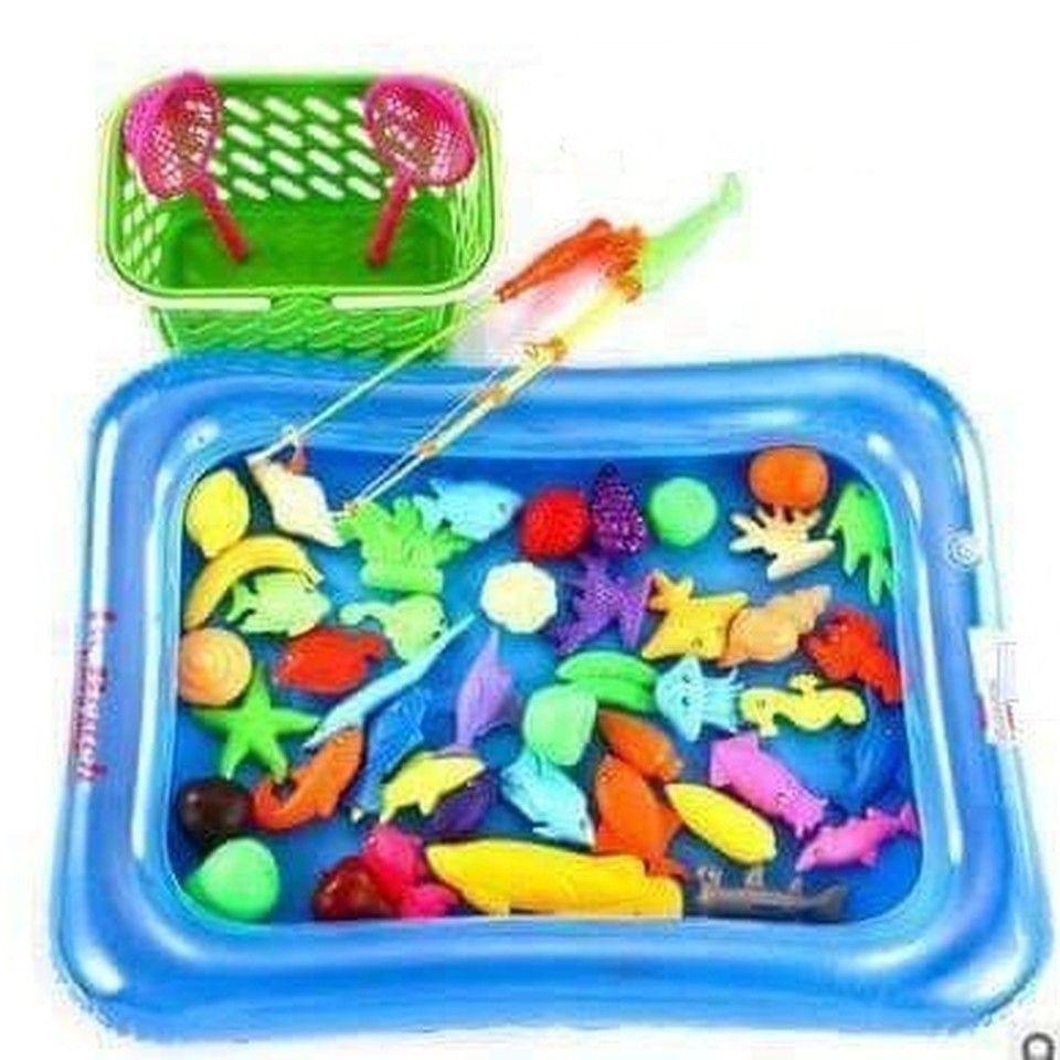Bộ bể câu cá 2 cần, 21 con