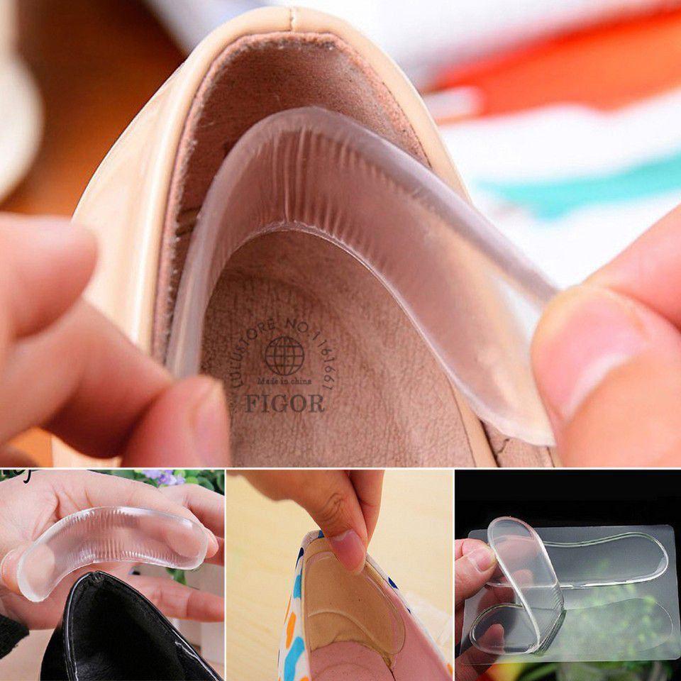 1 đôi lót gót giầy sau silicon êm ái