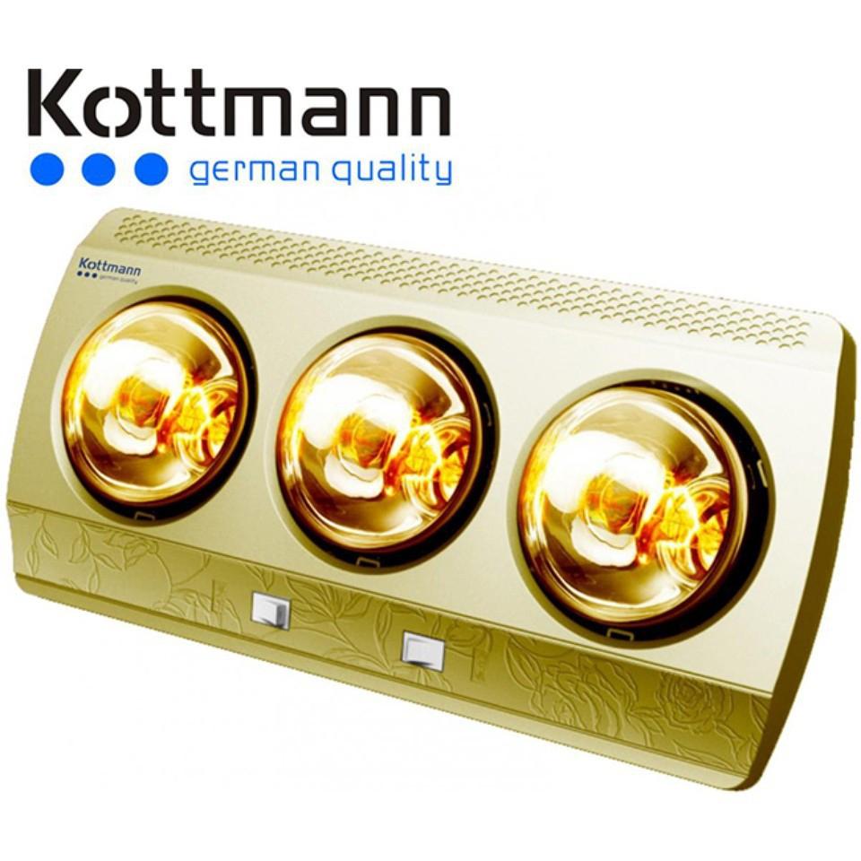 Đèn sưởi Kottman 3 bóng vàng