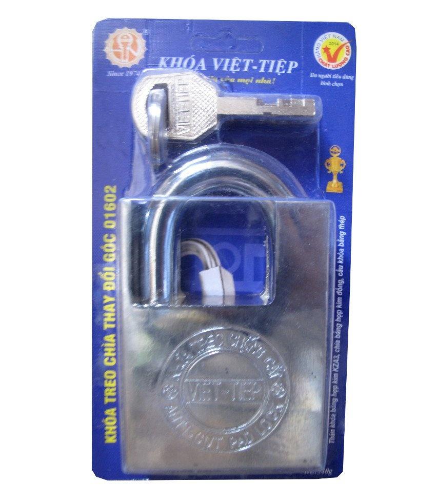 Khóa cửa Việt Tiệp chống cắt 01602