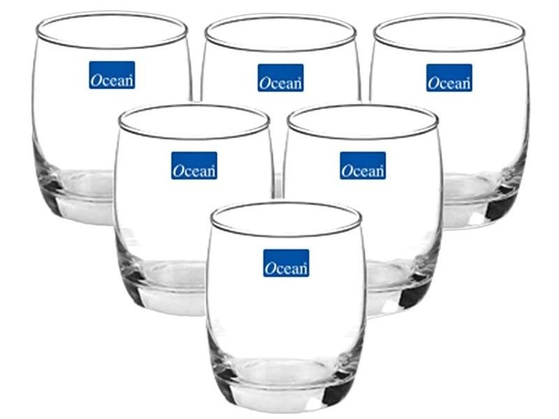 Bộ 6 cốc uống nước Ocean lùn