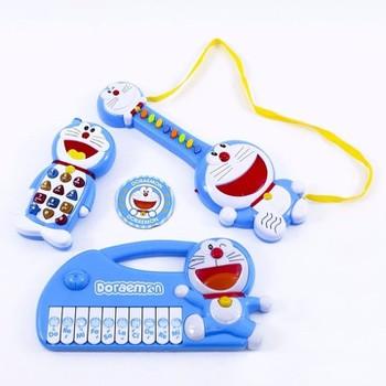 Bộ đàn và điện thoại Doremon phát nhạc